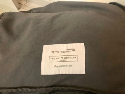 The White Company cosy blanket