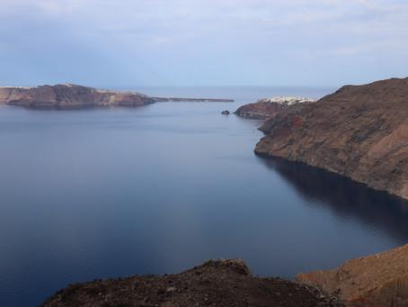 Santorini Greece:  Hike Adventures-Oia to Fira