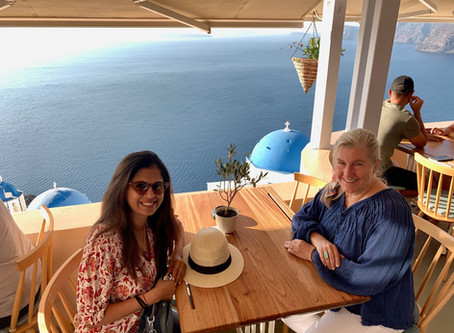 Santorini Greece:  Best Places to Eat in Oia