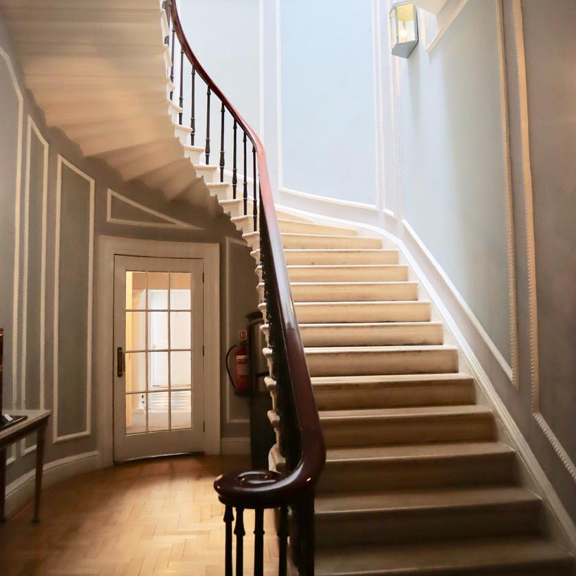 Georgian stairs