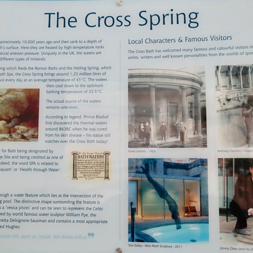 History of the Cross Bath