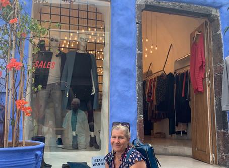 Santorini Greece: Shopping in Fira/Thira