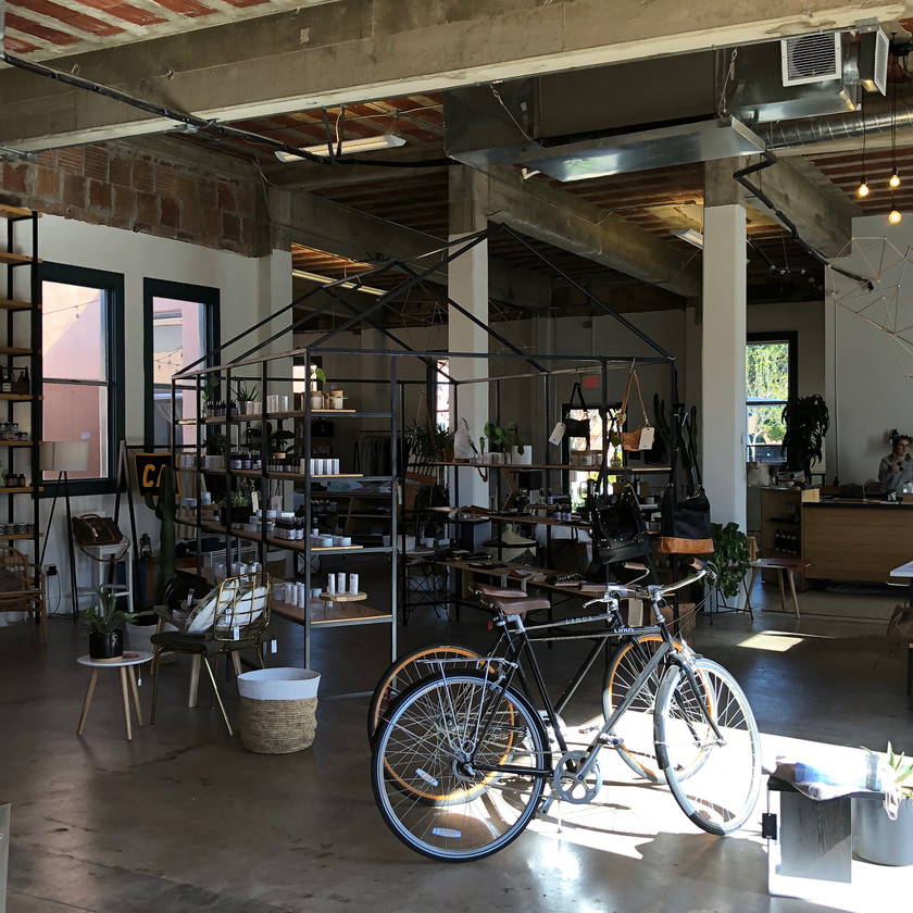 Moniker General coffee shop in San Diego's Liberty Station