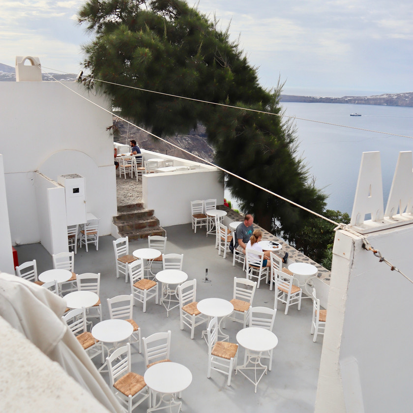 Volkan Cinema Santorini Greece