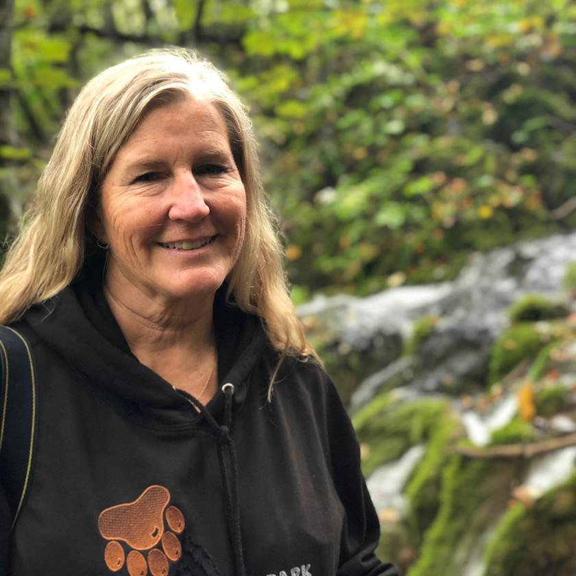 Siri Kay jostad at Plitvice Lakes National Park, Croatia