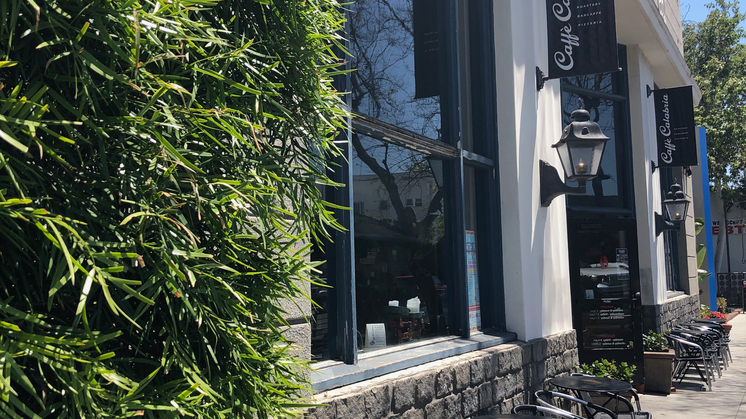 Exterior of Cafe Calabria North Park San Diego California