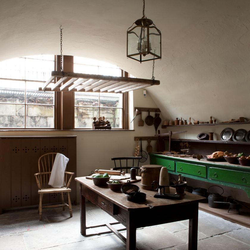 Scullery at No. 1