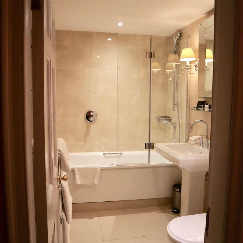 Luxe bathroom in our RCH suite
