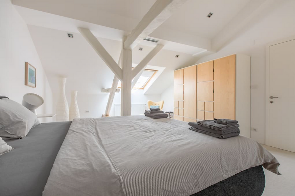Bedroom 2 Zagreb Croatia City Center Design apartment from airbnb