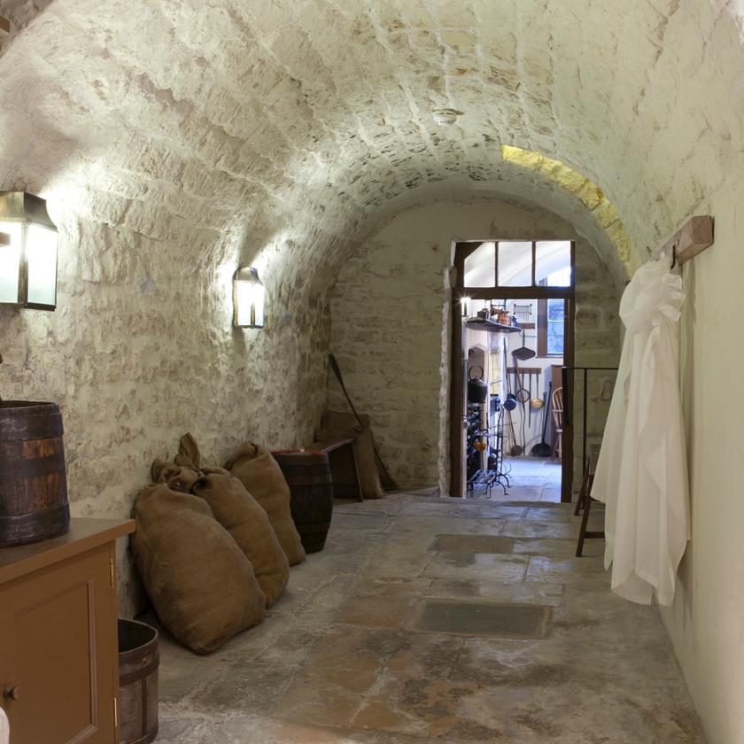 Underground Passage at No. 1