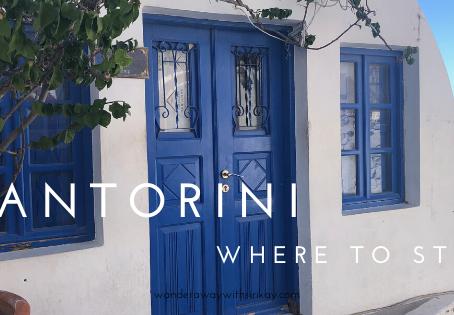 Santorini Greece:  Where to Stay
