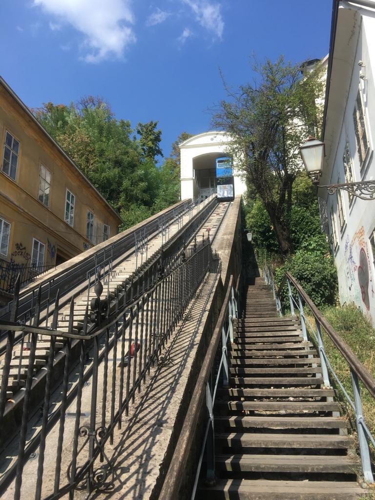 Zagreb Croatia funicular