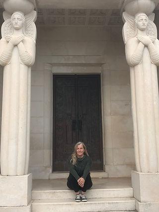 Siri at Racic Family Mausoleum Cavtat Croatia.jpeg