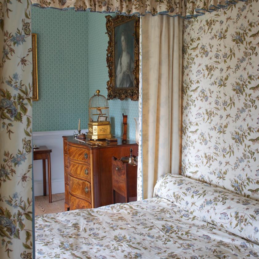 Bedroom at No. 1