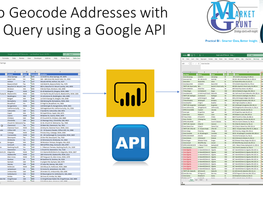 Geocode an Address List with Google Maps API and Power Query