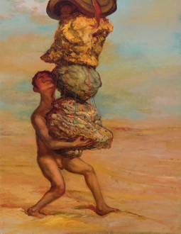 Gold, Rock, Flesh, and Saddle