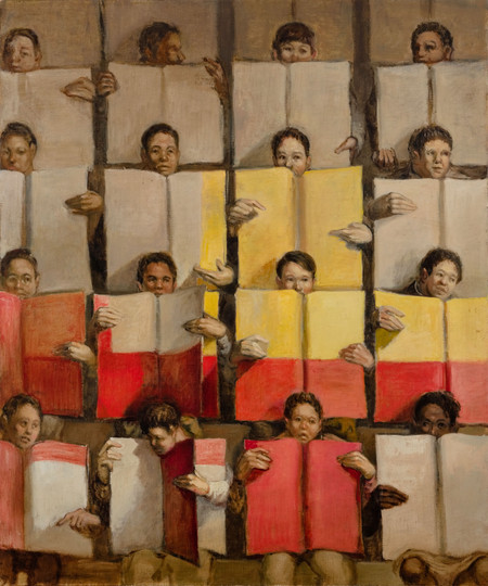 Card Stunt X ( White Yellow and Red)