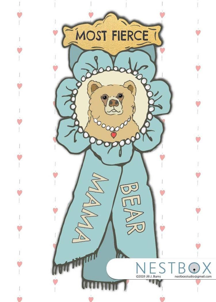 Public Mama bear