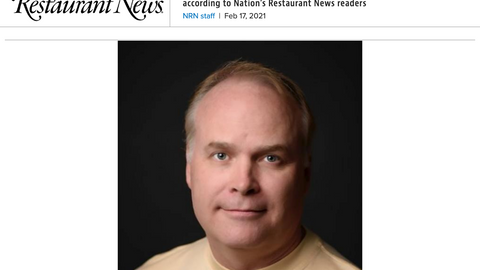 Nation's restaurant news NAMES PERFECT'S CEO ONE OF THE MOST INFLUENTIAL SOLUTIONS PROVIDERS IN 2021