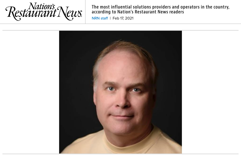 Mike Wallace, Perfect Company CEO named to NRN's 2021 Most Influential Solutions Providers