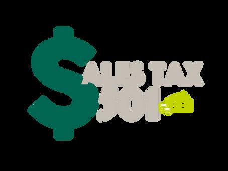 Sales Tax 501