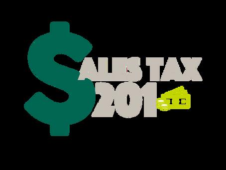 Sales Tax 201
