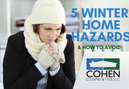 5 Winter Home Hazards (& How to Avoid!)