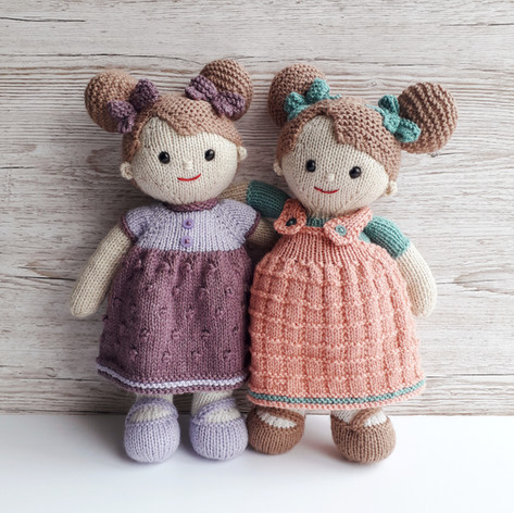 Lilly and May dolls £4.00