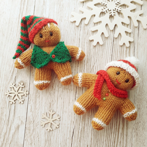 Chrismas Gingerbread Men £3.50