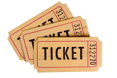 Raffle Ticket - Benefit Show $1.00