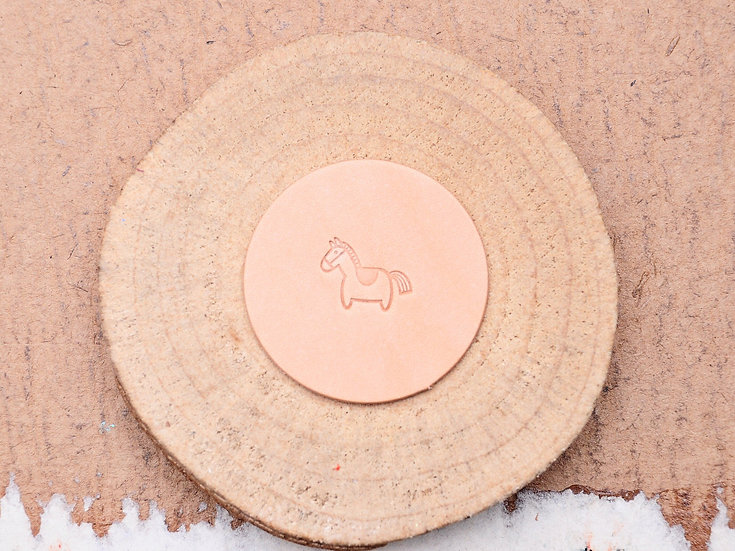 Craft Japan 皮革印花工具 E666 小馬