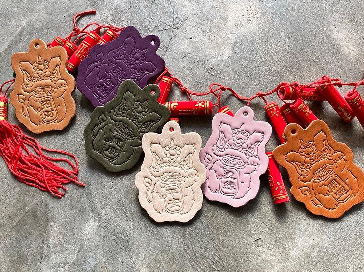 吉祥醒獅 鎖匙扣系列 成品製造