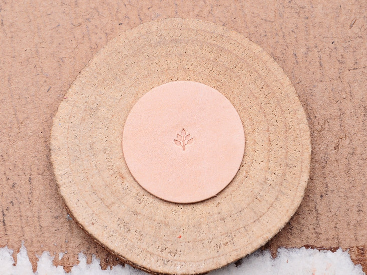 Craft Japan 皮革印花工具 E375 樹葉