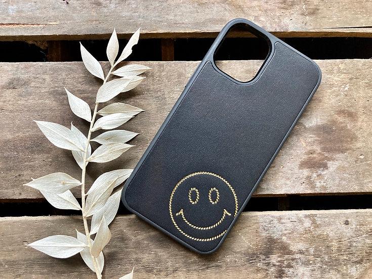 【好好縫】SMILE FACE iPhone電話殼|皮革D.I.Y材料包