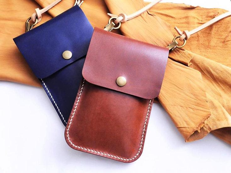 【好好縫】斜揹袋 皮革D.I.Y材料包