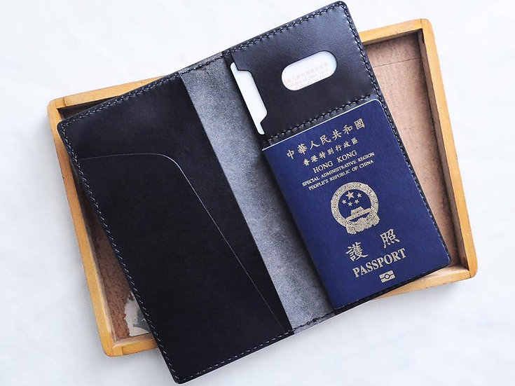 【好好縫】長款咭位夾位護照套|皮革D.I.Y材料包