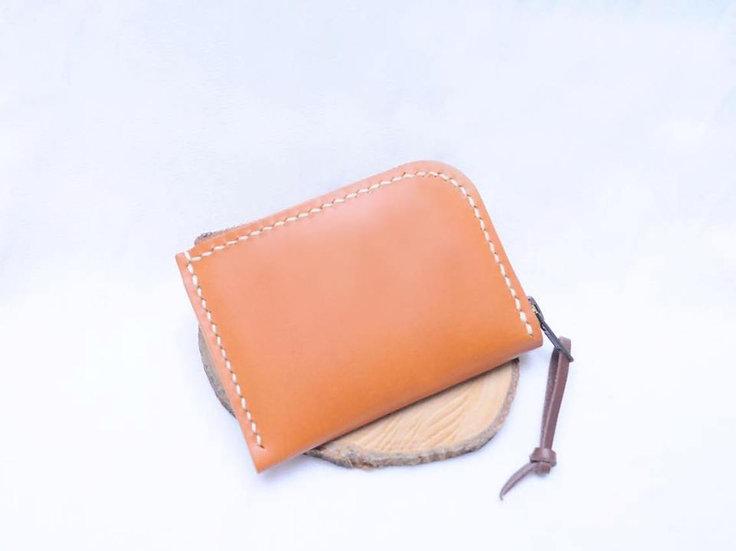 【好好縫】拉鏈銀包|皮革D.I.Y材料包
