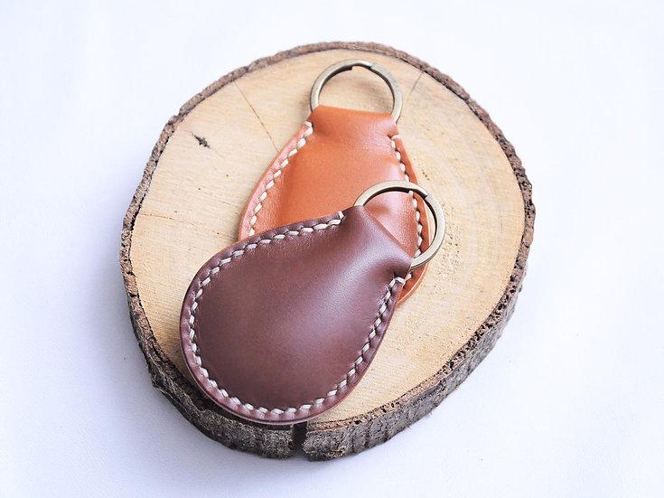 【好好縫】水滴形匙牌|皮革D.I.Y材料包