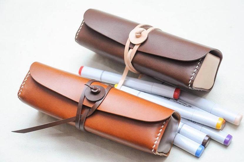 【好好縫】筆袋|皮革D.I.Y材料包