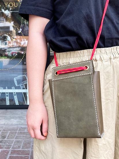 【好好縫】直身兩用揹袋|皮革DIY材料包