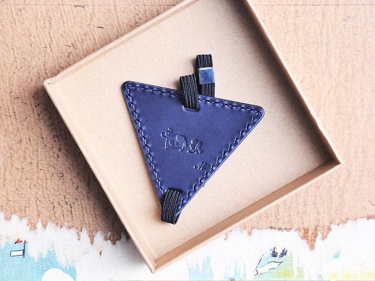【好好縫】三角形書籤|皮革D.I.Y材料包