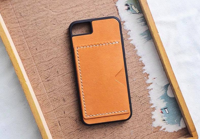 【好好縫】iPhone 皮革電話殼 (咭位) 皮革D.I.Y材料包