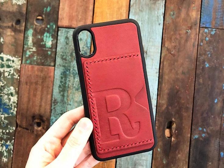 【好好縫】iPhone 頭文字電話殼 (咭位) 皮革D.I.Y材料包