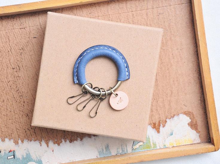 【好好縫】經典鎖匙圈 皮革D.I.Y材料包