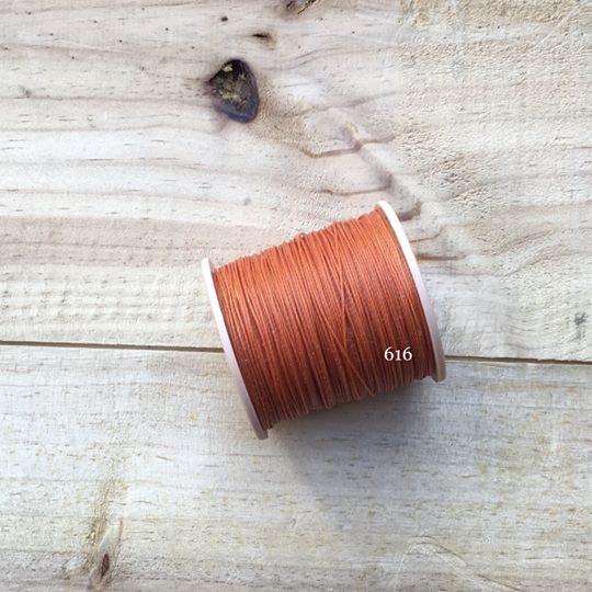 0.65mm 圓蠟線 No.616 深橙色