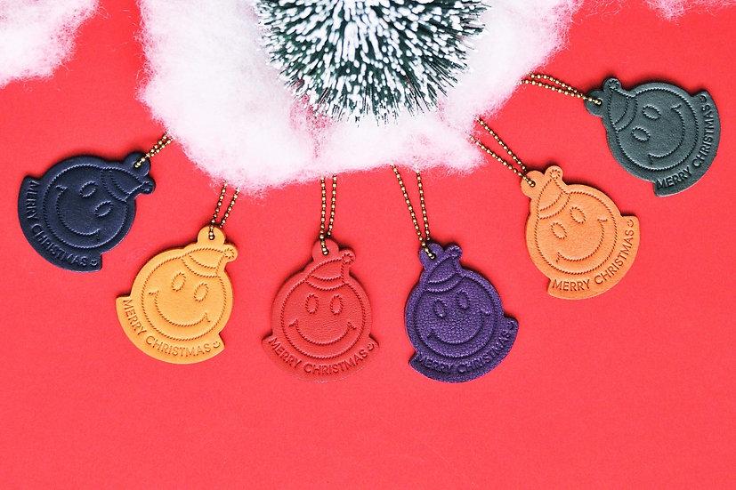 聖誕SMILE FACE:)鎖匙扣|成品製造