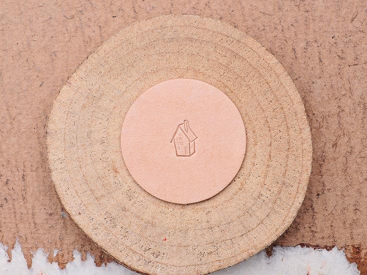 Craft Japan 皮革印花工具 E597 小屋