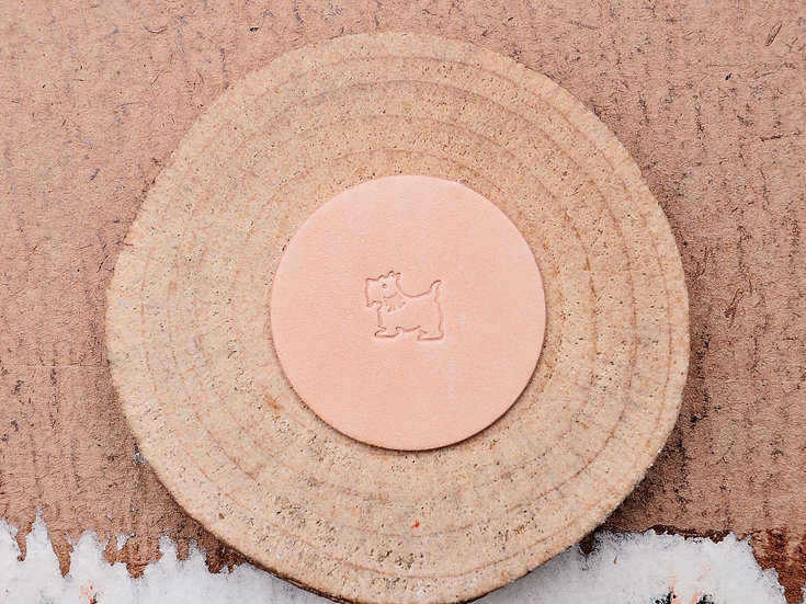 Craft Japan 皮革印花工具 E672 小狗
