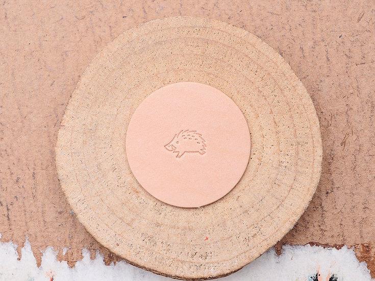 Craft Japan 皮革印花工具 E673 箭豬