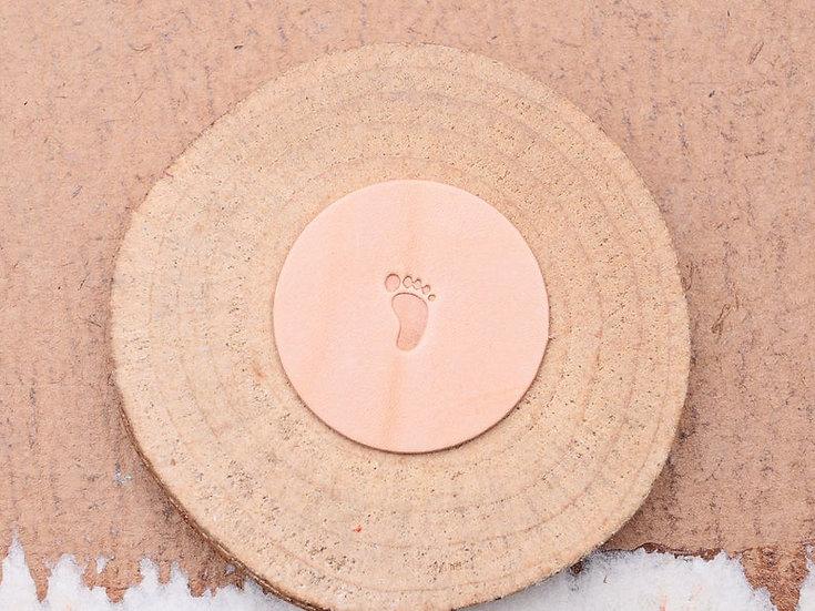 Craft Japan 皮革印花工具 E471L/R 腳印